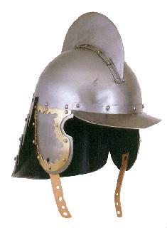 Burgonet-brass Helmet