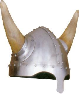 Spangenhelm horns Helmet