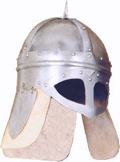 Viking Danish leather Helmet