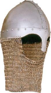 Spangenhelm chain gorget Helmet