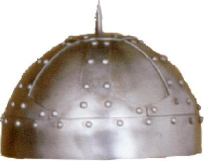 Spangenhelm overlapping I. Helmet