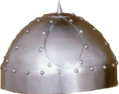 Spangenhelm overlapping II. Helmet
