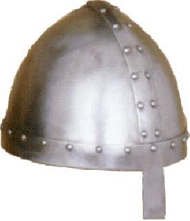 Spangenhelm nose II. Helmet