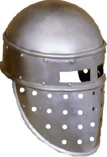 Cylindrical rounded Helmet
