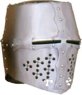 Rounded-French Helmet