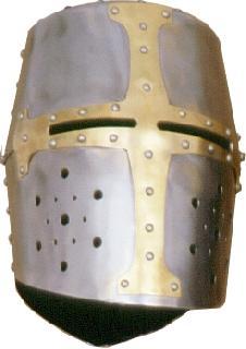 Rounded-brass I. Helmet