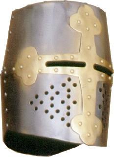 Rounded-brass II. Helmet