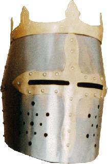 Rounded-king I. Helmet