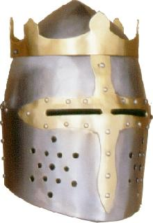 Rounded-king II. Helmet