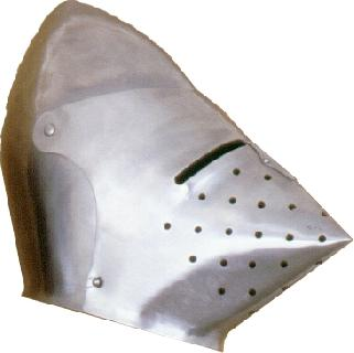 Basinet II.   Helmet