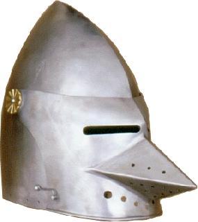 Basinet III.  Helmet