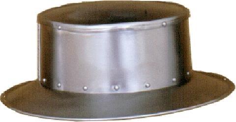Flat toped Helmet