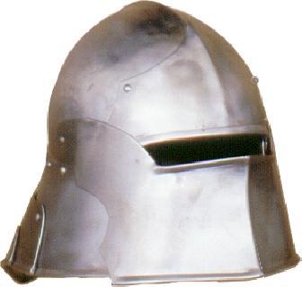 Open visor Helmet