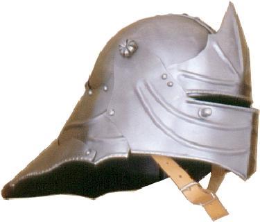 Sallet I.  Helmet