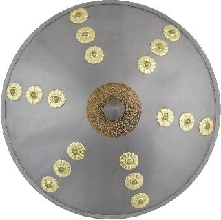 Buckler iron-brass Shield