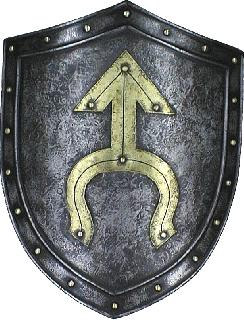 Iron-brass Shield
