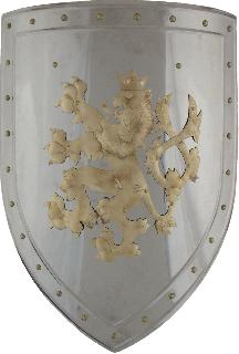 Stainless-brass Shield