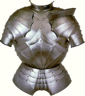 Gothic  Breast Plate