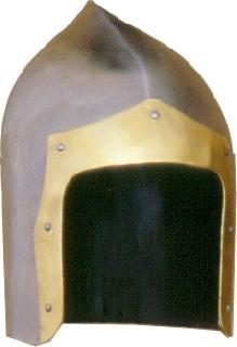 Brass corded Helmet
