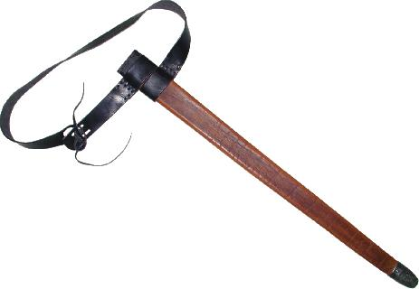 Scabbard for 1.5 hand sword Scabbard
