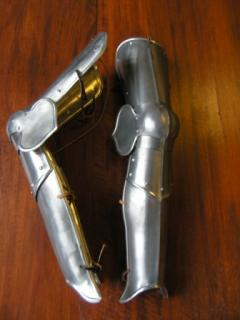 The Aluminum Greaves of the Prince