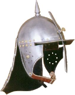 Pappenheim brass Helmet