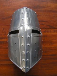 The Aluminum Helmet of the Crossed Faith