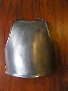 The Aluminum Breastplate of Soldier