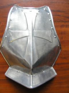The Aluminum Breastplate of Crossed Faith