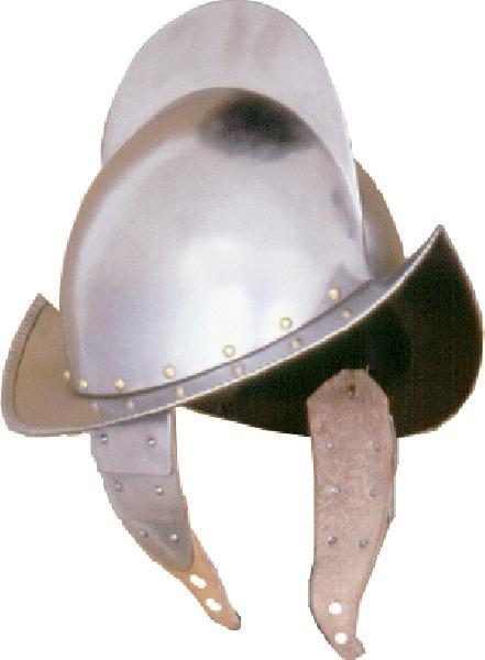 Helmet 22- 16th Century Spanish Comb Morion Helmet - The Red Knight