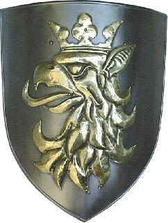 Shield-wrought iron-brass (ST-04.02a-005)