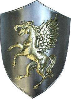 Shield-wrought iron-brass (ST-04.02a-007)