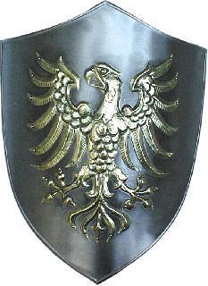 Shield-wrought iron-brass (ST-04.02a-008)