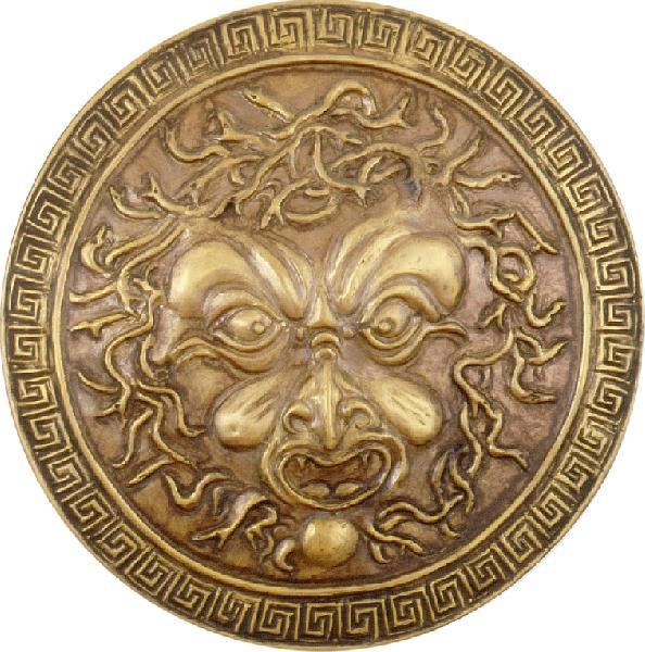 Armouronline com Shield-Roman wrought-brass Shield